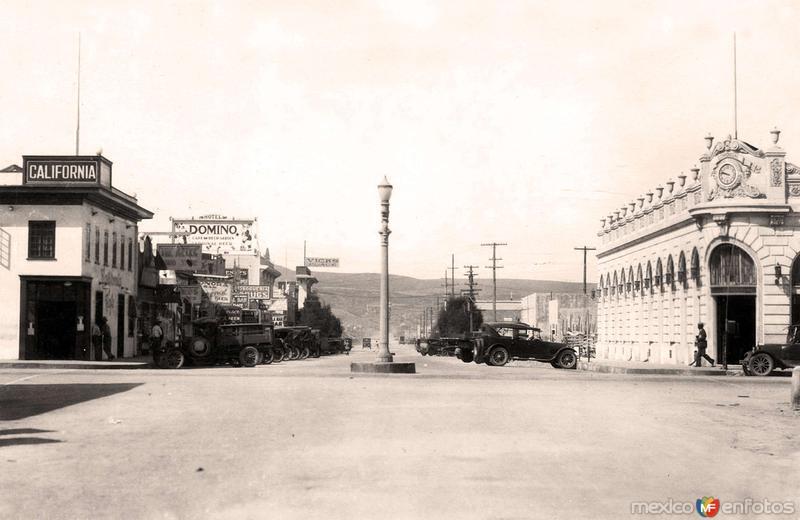 Tijuana, calle 2a, 1923