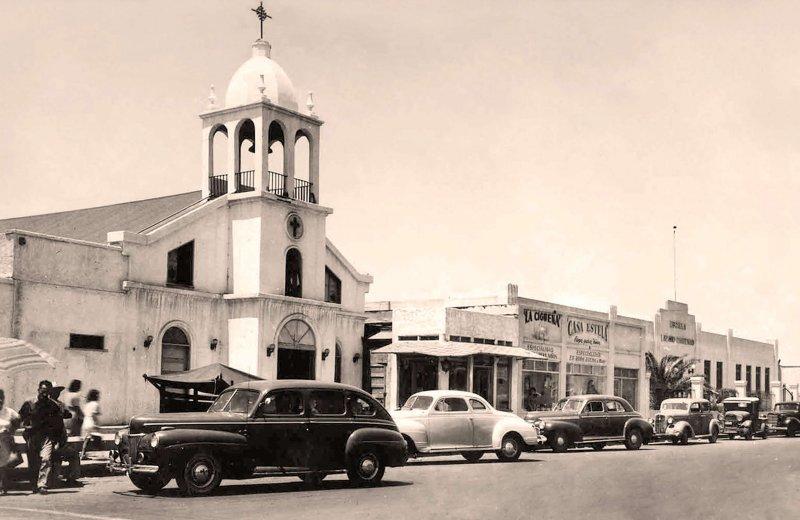 Tijuana, Parroquia de Guadalupe, 1947