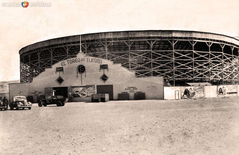 Tijuana, Plaza de Toros, 1940