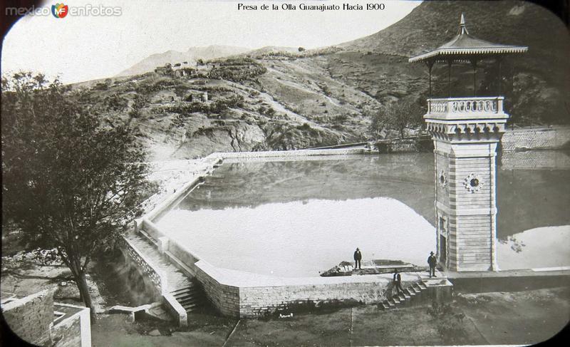 Presa de la Olla Guanajuato Hacia 1900