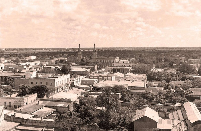 Fotos de Matamoros, Tamaulipas, M�xico: Matamoros, vista panor�mica, 1959