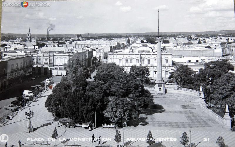 Plaza de la constitucion Hacia 1940