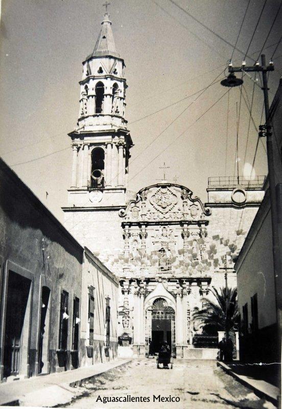 Templo de la Merced (ca. 1940)