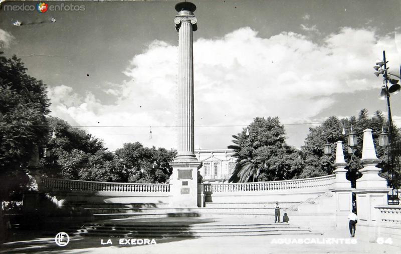 La Exedra Hacia 1945
