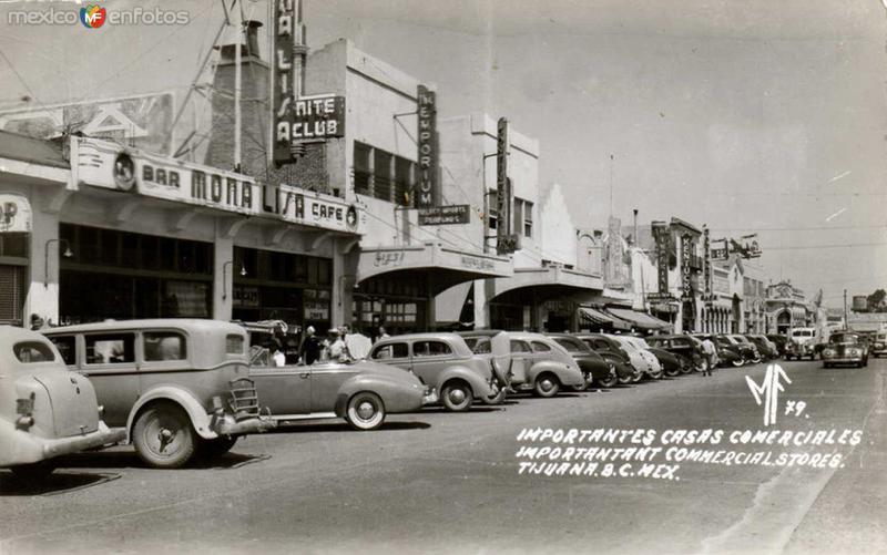 Importantes casas comerciales Hacia 1945