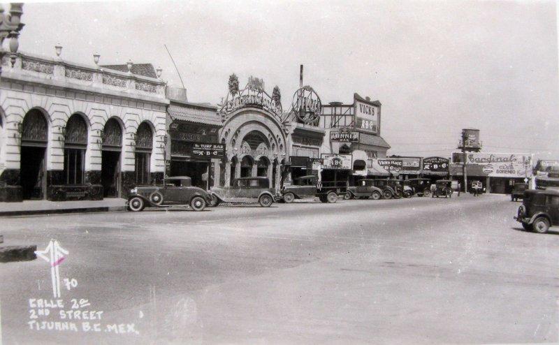 Calle Segunda Hacia 1945