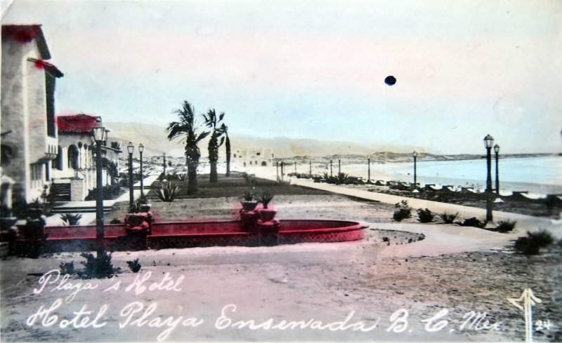 Hotel Playa Hacia 1945