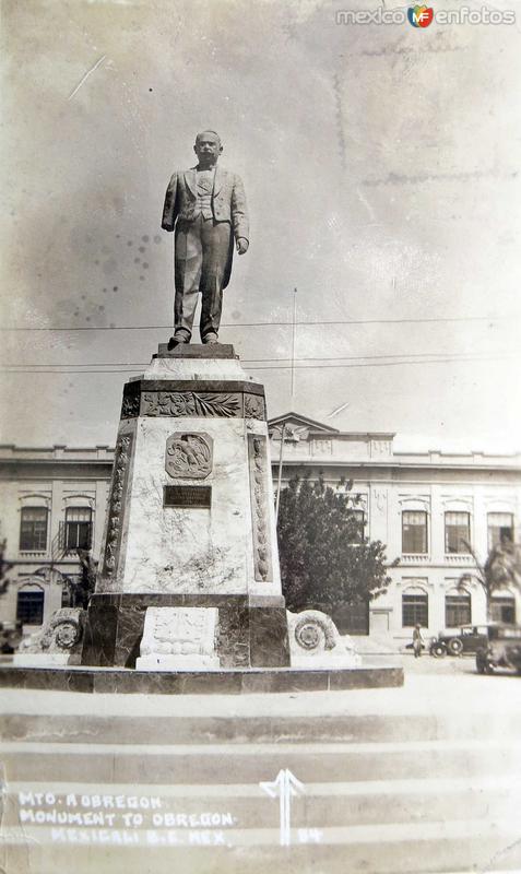 Mto. a Obregon hacia 1945