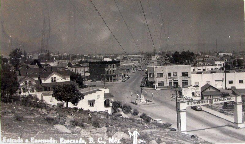 Bienvenidos Entrada Hacia 1945