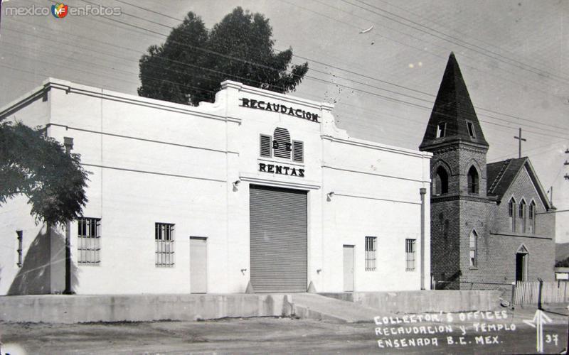 Oficina de recoleccion de Impuestos Hacia 1945