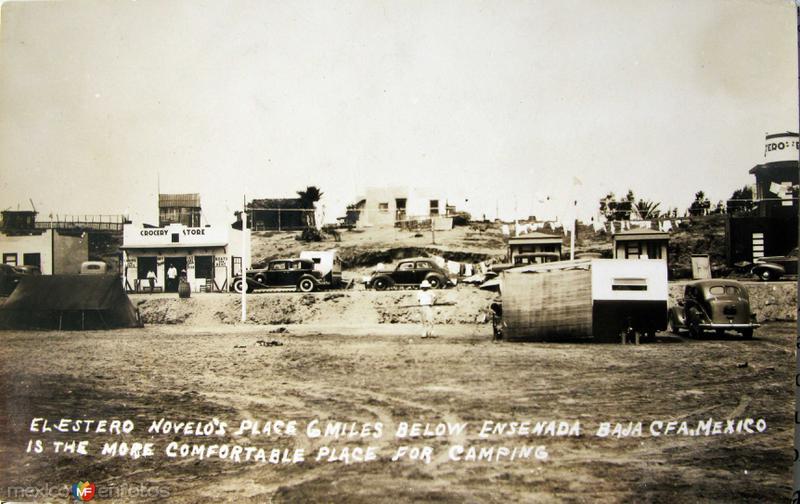 Estero Novelo Camping Hacia 1945