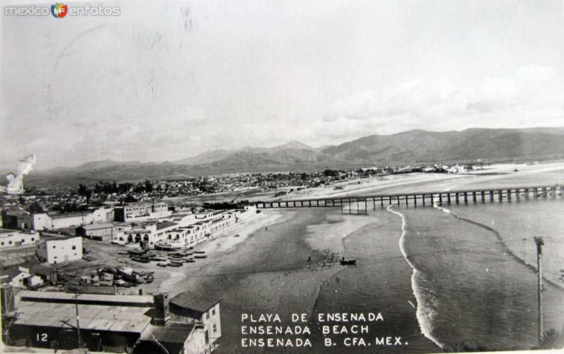 La Playa Hacia 1945