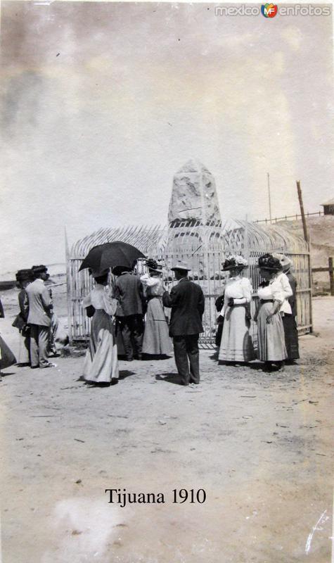 Visitando el Mto. divisorio Hacia 1910