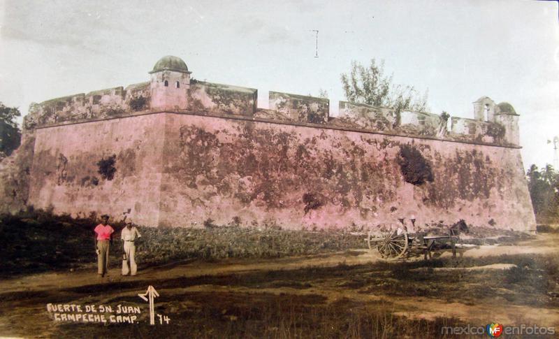 Fuerte de San Juan Hacia 1945
