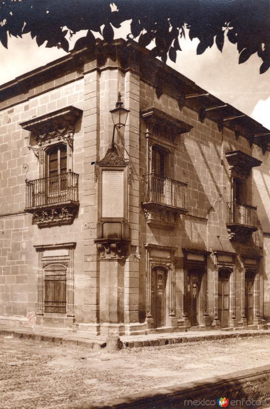 Casa de Don Ignacio Allende (c. 1940)