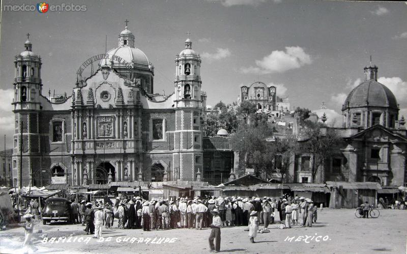 Basilica de Guadalupe Hacia 1945