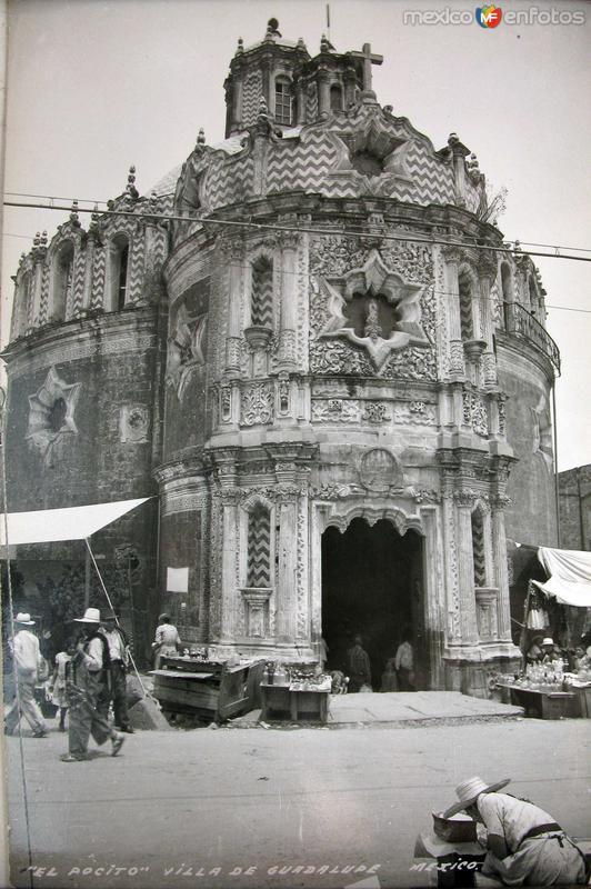 El Pocito Basilica de Guadalupe Hacia 1945
