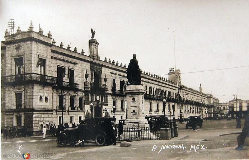 Palacio Nacional Hacia 1940