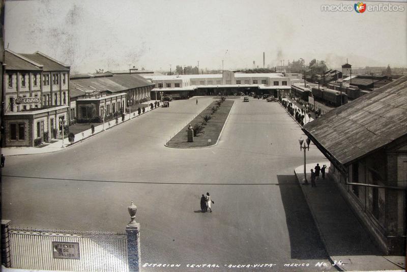 Estacion Buenavista Hacia 1945