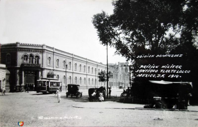 Prision Militar Hacia 1914