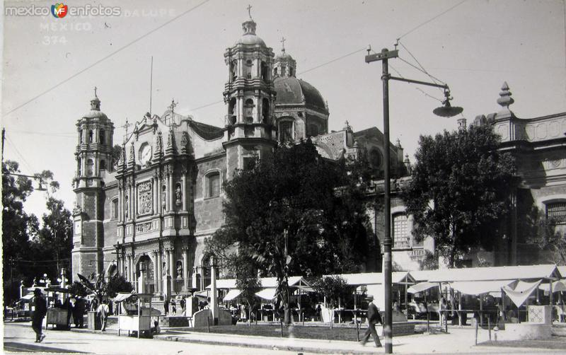 Villa dee Guadalupe Hacia 1940