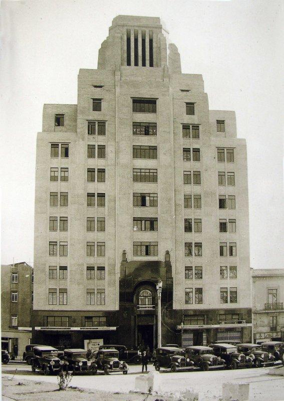 Edificio la Nacional Hacia 1930
