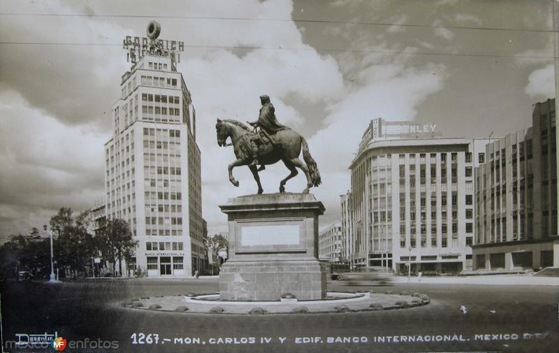 Mto. a Carlos VI Hacia 1945
