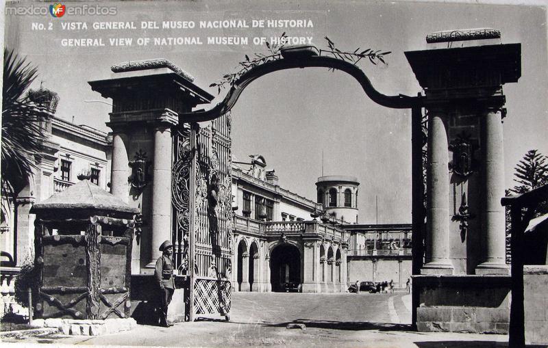 Museo de el Castillo de Chapultepec Hacia 1945