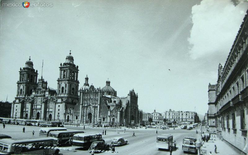 La Catedralel Hacia 1945