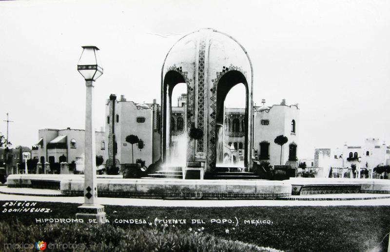 Hipodromo de la Condesa Hacia 1945