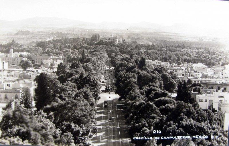 Castillo de Chapultepec Hacia 1945