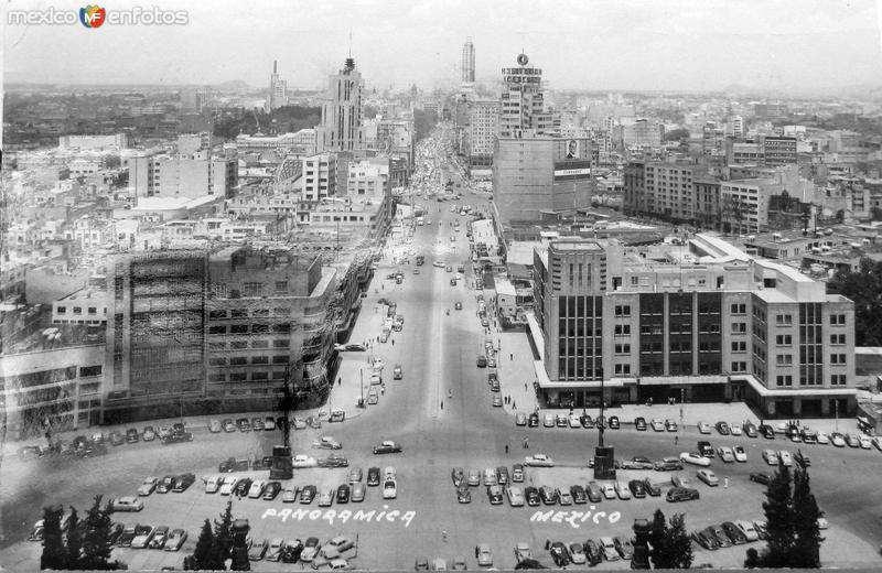 Fotos de Ciudad de M�xico, Distrito Federal, M�xico: Panorama Hacia 1945