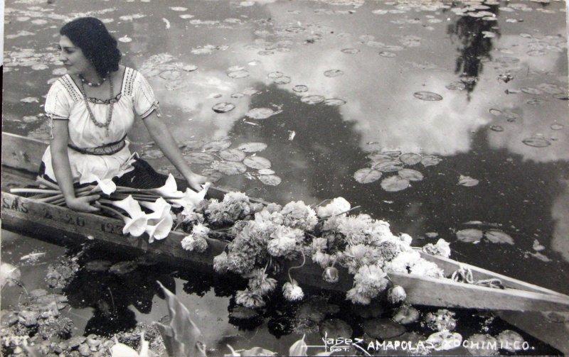 Amapolas de Xochimilco Hacia 1948