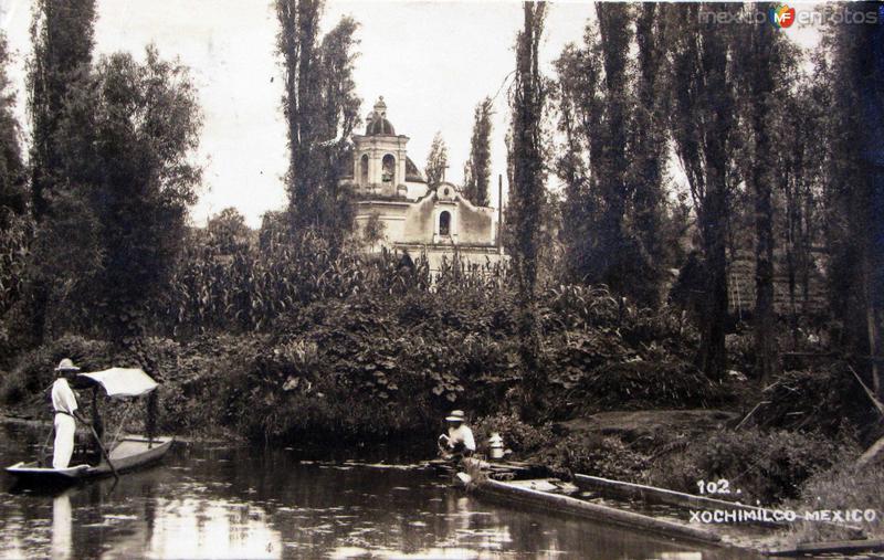 Xochimilco Hacia 1948