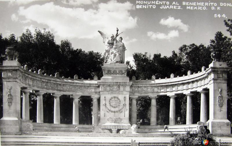 Mto a Benito Juarez Hacia 1945