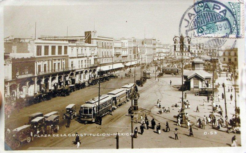Plaza de la Constitucion Hacia 1929