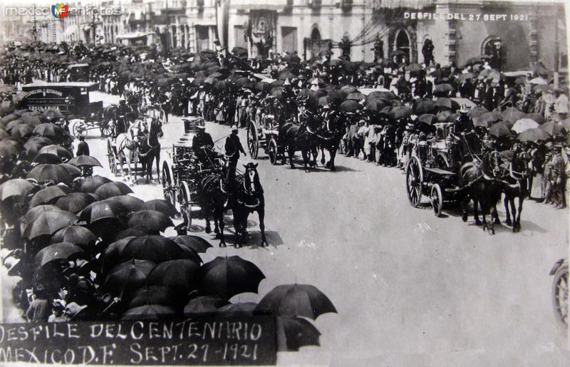 Desfile del Centenario en 1927 Hacia 1927