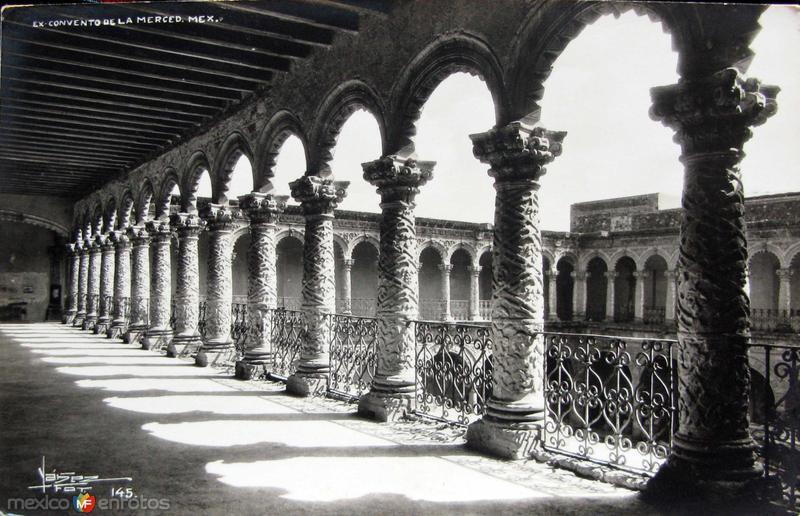 Convento de la Merced Hacia 1945