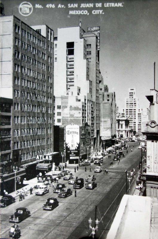 Ave. San Juan de Letran Hacia 1945