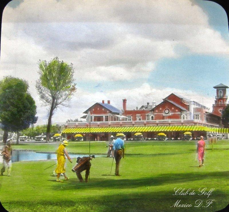 Club de Golf Hacia 1930
