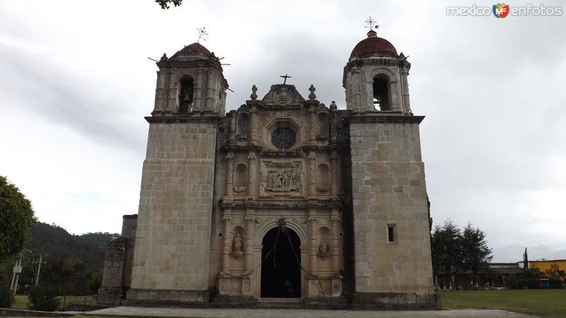 Fotos de Ixtl�n de Ju�rez, Oaxaca, M�xico: Parroquia de Ixtl�n de Ju�rez. Julio/2014