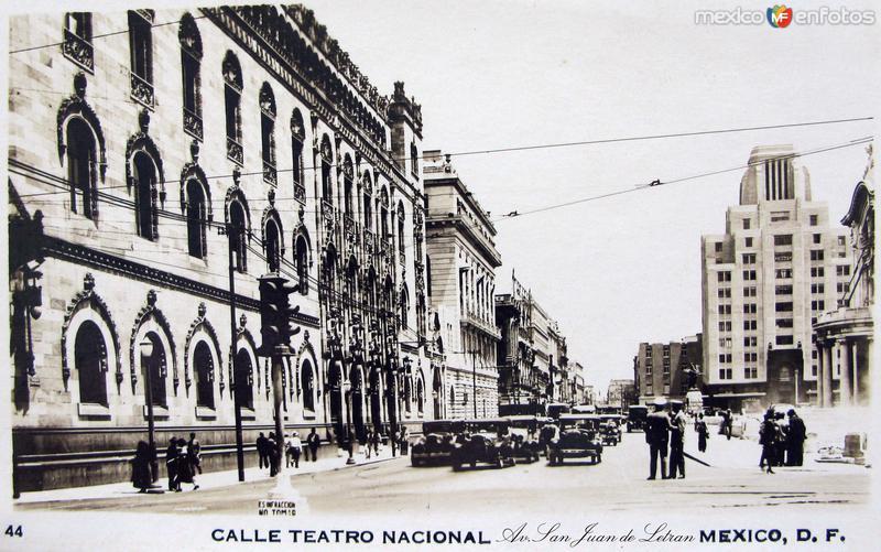 Avenida San Juan de Letran Hacia 1945