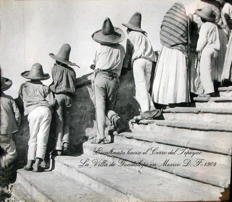 Escalinata de la Villa Hacia 1908
