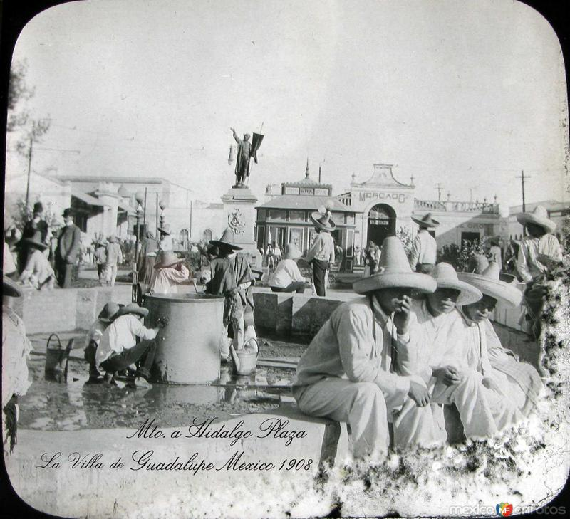 Mto. a Hidalgo en la Villa Hacia 1908