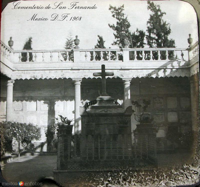 Cementerio de San Fernando Hacia 1908