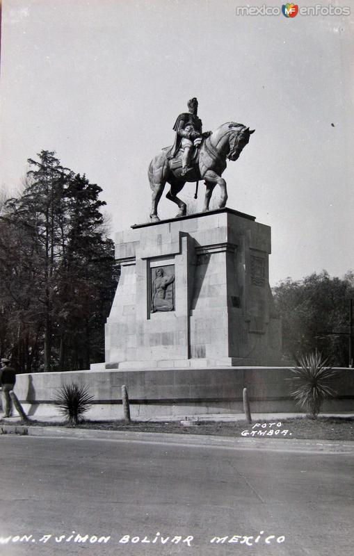 Mto.a Simon Bolivar Hacia 1945