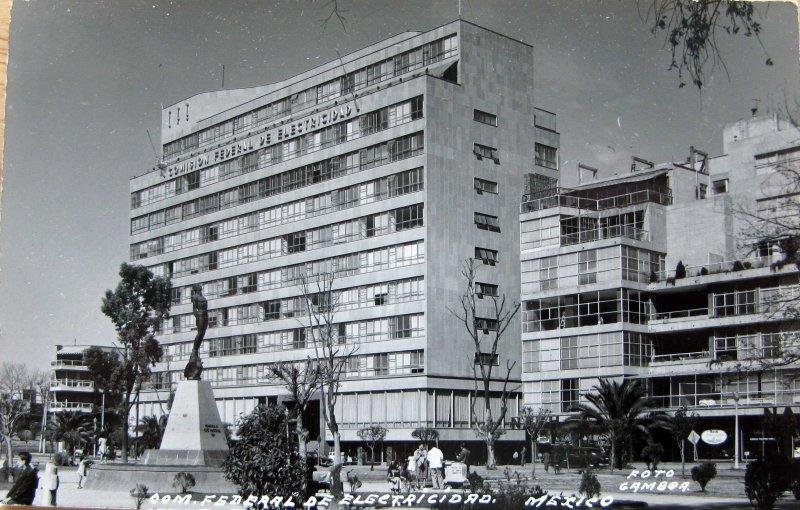 Edificio Comision Federal de Electricidad Hacia 1945