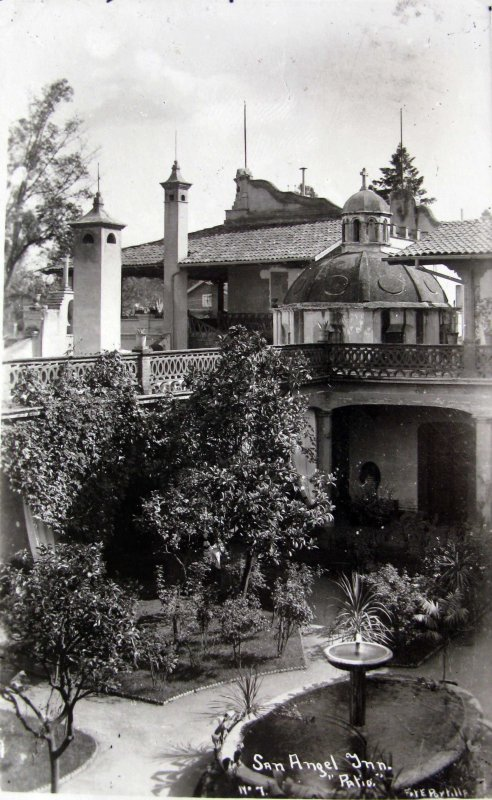 Hotel San Angel Inn Hacia 1945