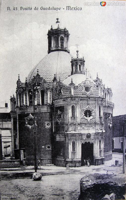 Fotos de Ciudad de México, Distrito Federal, México: El Pocito en La Villa de Guadalupe Hacia 1909