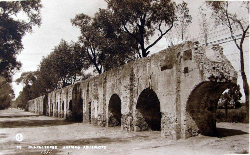 Acueducto de Chapultepec Hacia 1930